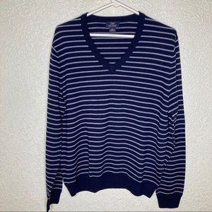 Brooks Brothers Sweater Extra Fine Merino Wool M